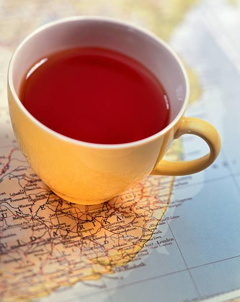 una taza de rooibos rojo